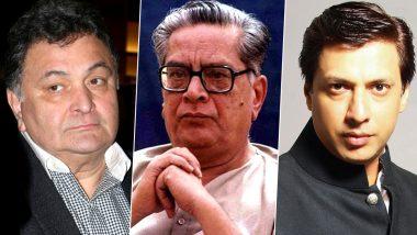 Dr Shriram Lagoo Passes Away: Rishi Kapoor, Madhur Bhandarkar and Other Bollywood Celebs Pay Condolences to the Late Actor