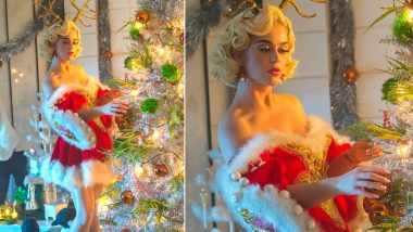 Katy Perry in Racy Sexy Santa Costume Is Making Netizens Go, 'All I Want for Christmas Is You'