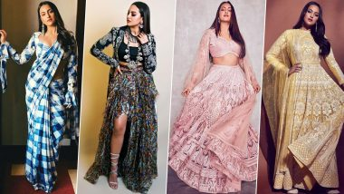 Sonakshi Sinha's Style File for Dabangg 3 Promotions was a Delightful Affair with Some Whimsical Choices (View Pics)