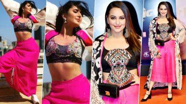 Fashion faceoff: Katrina Kaif or Sonakshi Sinha - Who Nailed this Anamika Khanna Design Better?