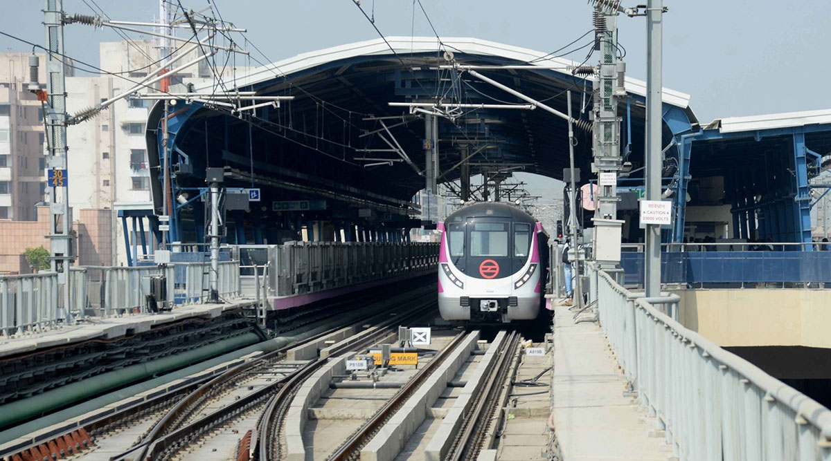 Delhi Metro's Blue Line Delayed Due to a Passenger on Track at Dwarka Mor Station