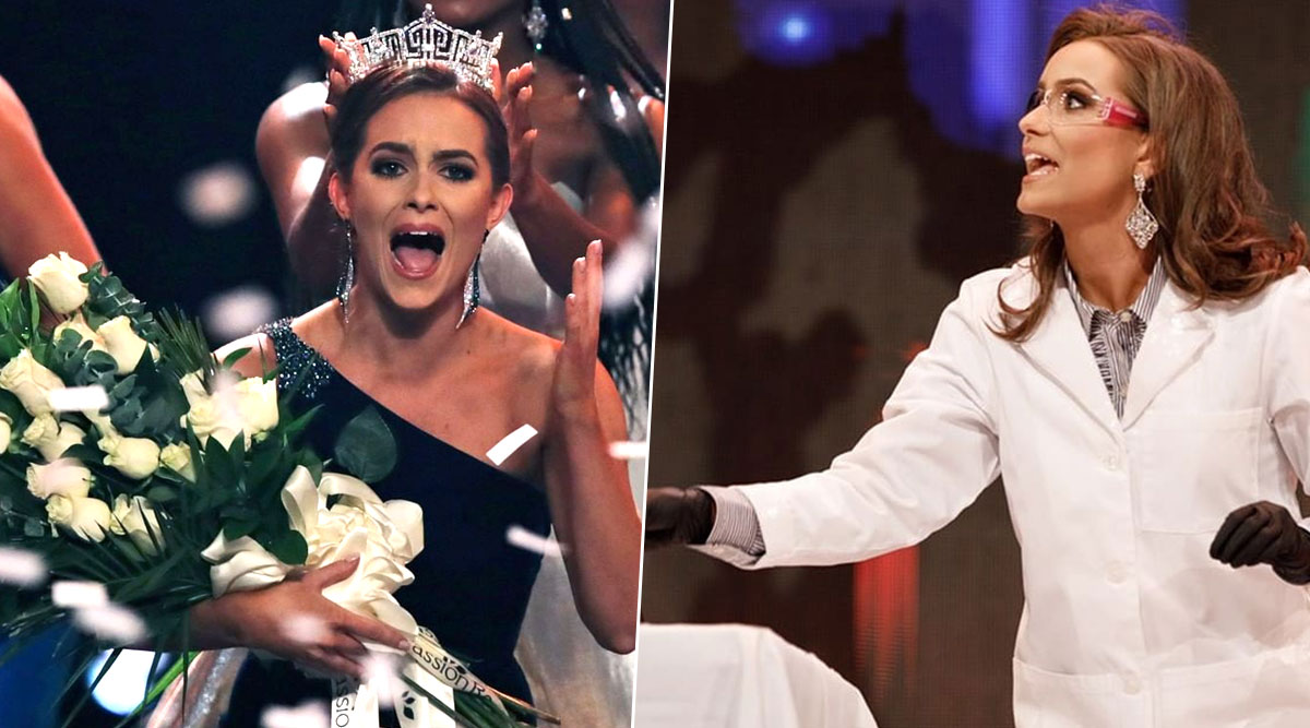 Camille Schrier Crowned Miss America 2020: Biochemist Wins Beauty Pageant Title After Presenting a Chemistry Experiment Live on Stage (View Pics)