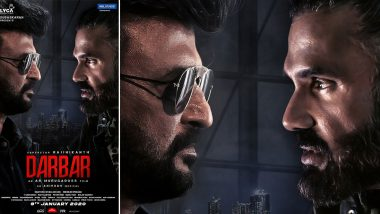 Darbar: Rajinikanth and Suniel Shetty Lock Horns in this New Poster (View Pic)