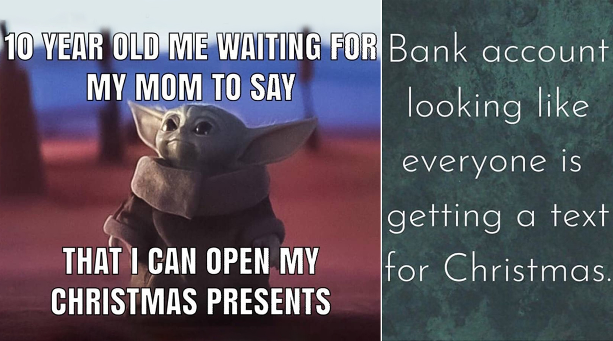 Christmas 2019 Funny Memes and Jokes: From Cute Baby Yoda ...