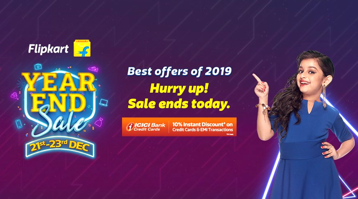 Flipkart Year End Sale 2019 Last Day: Discounts on Realme X2, Google Pixel 3a XL, iPhone 7, Redmi 8 & Other Smartphones