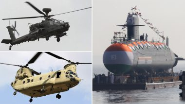 Year-Ender 2019 on Indian Armed Forces Weaponry: From Apache Attack Helicopters to INS Khanderi, List of Key Inductions This Year