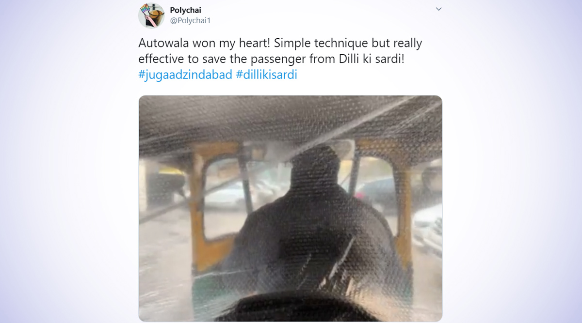 This Delhi Autorickshaw Driver's Easy and Cost-Effective Hack to save His Passengers from the Severe  Delhi Winters Will Warm Your Heart! (Watch Video)