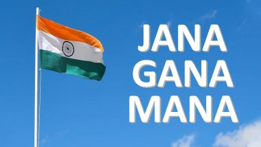 Jana Gana Mana Was Sung For The First Time on December 27, 1911; Know More About The National Anthem of India