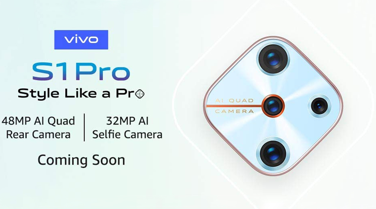 Vivo S1 Pro Smartphone Teased on Amazon Ahead of India Launch; To Feature 48MP Quad Rear Camera & 32MP Selfie Shooter