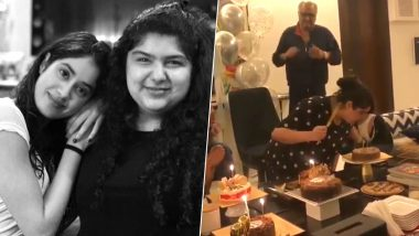 Arjun Kapoor's Sister Anshula Kapoor's Birthday Celebration Was a Whole Lot of Fun With Janhvi Kapoor, Khushi Kapoor and Others - See Inside Pics and Videos