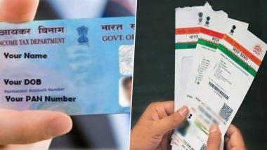 PAN Aadhaar Linking Deadline Till December 31; Here's How To Link Your PAN With Aadhaar Card Before Deadline
