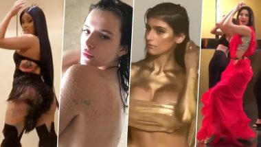 Year Ender 2019: From Mia Khalifa Dipped in Gold to Bella Thorne's Nude Bathroom Video, XXX-Tra Hot Clips That Turned up the Heat This Year