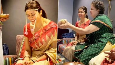 Bigg Boss 12's Nehha Pendse Looks Gorgeous in a Traditional Get-Up as She Begins Pre-Wedding Festivities (See Pics)