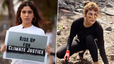 Bhumi Pednekar and Esha Gupta Bid 2019 a Goodbye by Taking Part in the Cleanliness Drive Campaign