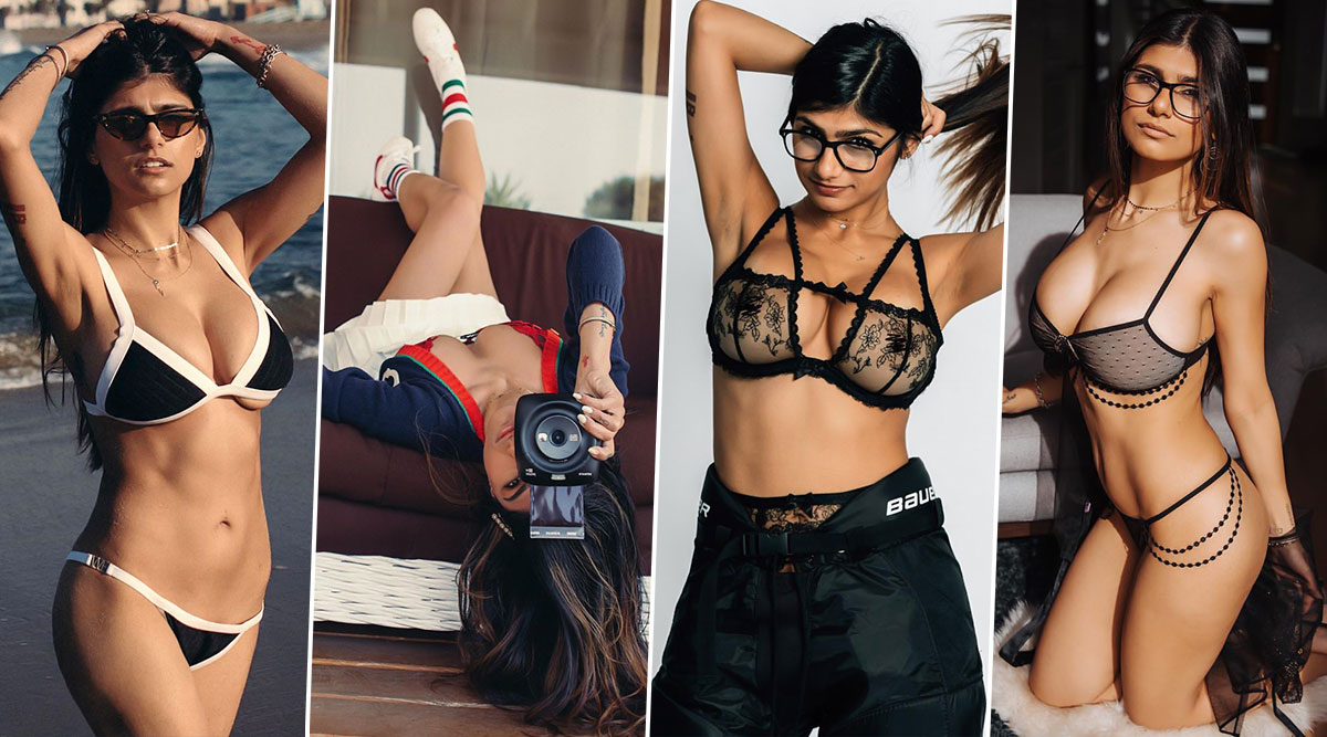 Mia Khalifa's Hottest Pictures and Videos of 2019: Sexy Photos and Clips of the Former XXX Star To Welcome New Year 2020