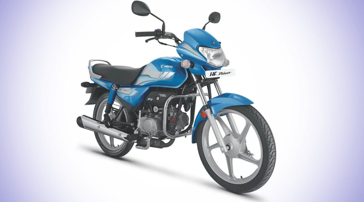 BS6 Hero HF Deluxe Motorcycle Launched in India at Rs 55,925; Features, Variants & Specifications
