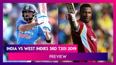 IND vs WI, 3rd T20I 2019 Preview: India, West Indies Face-Off in Blockbuster Series-Finale
