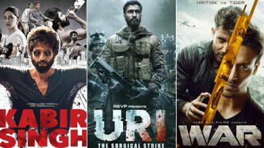 Year Ender 2019: War, Kabir Singh, Uri: The Surgical Strike - Check Out The 10 Highest Grossing Movies Of 2019