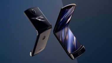 Motorola Razr 2019 Foldable Smartphone Coming To India Soon; Samsung Galaxy Fold Rival Officially Teased Online: Watch Video