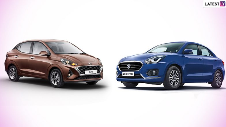 Hyundai Aura vs Maruti Suzuki Dzire: Comparison; India Prices, Features & Specifications