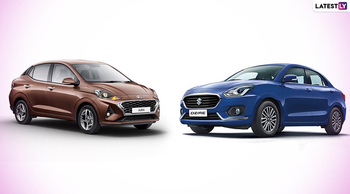 Hyundai Aura vs Maruti Suzuki Dzire: Comparison; India Prices, Features & Specifications