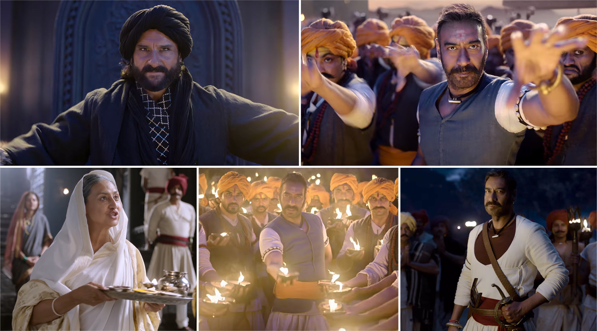 Tanhaji Song Shankara Re Shankara: Ajay Devgn's Powerful Track Will Instantly Lift Up Your Spirit (Watch Video)