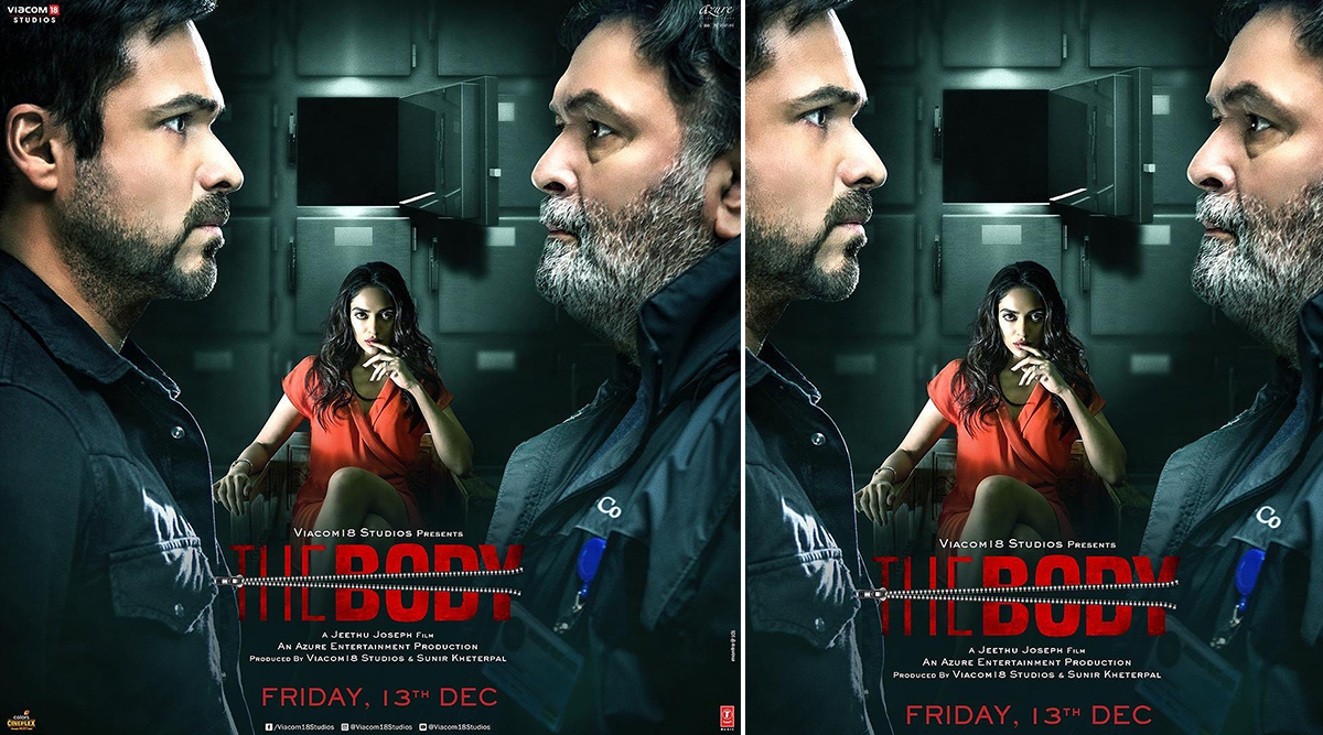 The Body Movie: Review, Cast, Box Office Collection, Budget, Story, Trailer, Music of Emraan Hashmi, Rishi Kapoor, Sobhita Dhulipala Film
