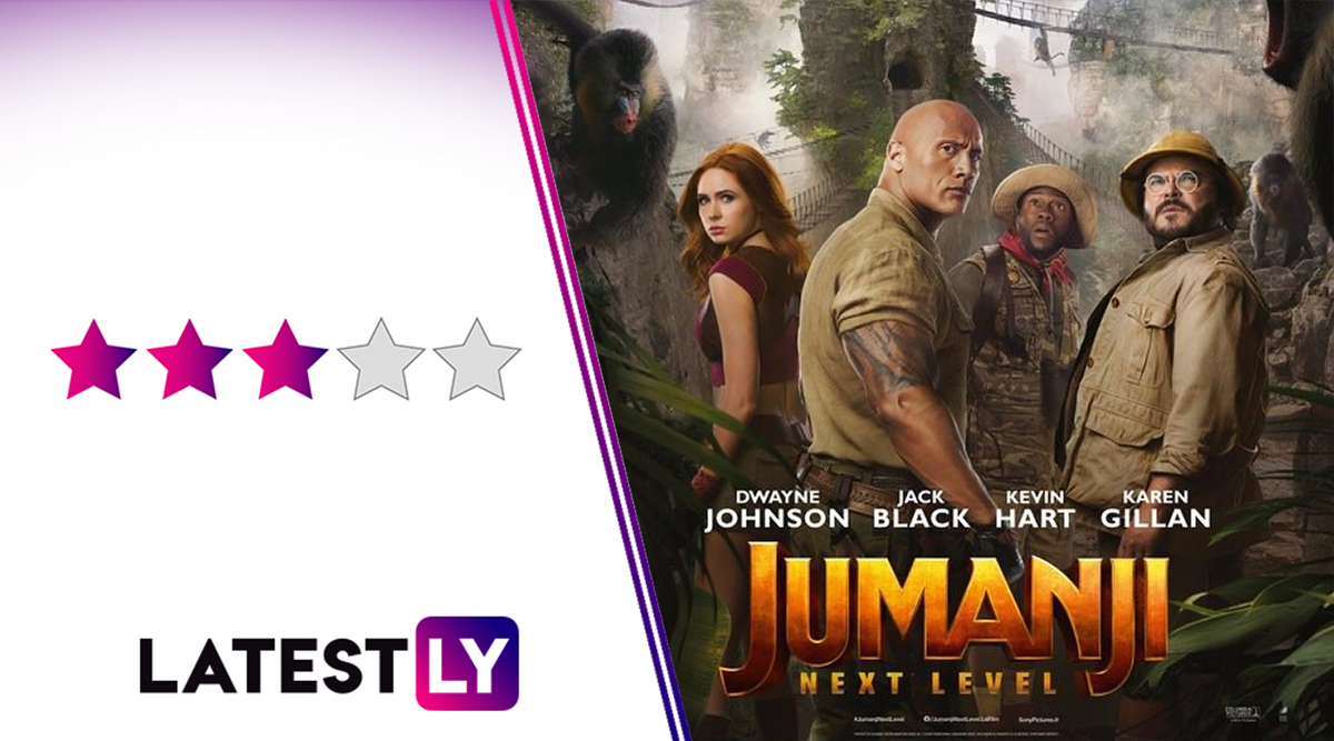 Jumanji the Next Level Movie Review: Jack Black, Danny DeVito Steal the Show in Dwayne Johnson's Glitchy but Funnier Sequel to the 2017 Film
