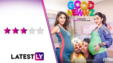 Good Newwz Movie Review: Akshay Kumar, Kareena Kapoor Khan Are in Sparkling Form in This Feel-Good Entertainer