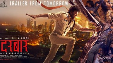 Darbar New Poster: Rajinikanth as a One Man Army Will Make Singham, Simmba and Sooryavanshi Happy