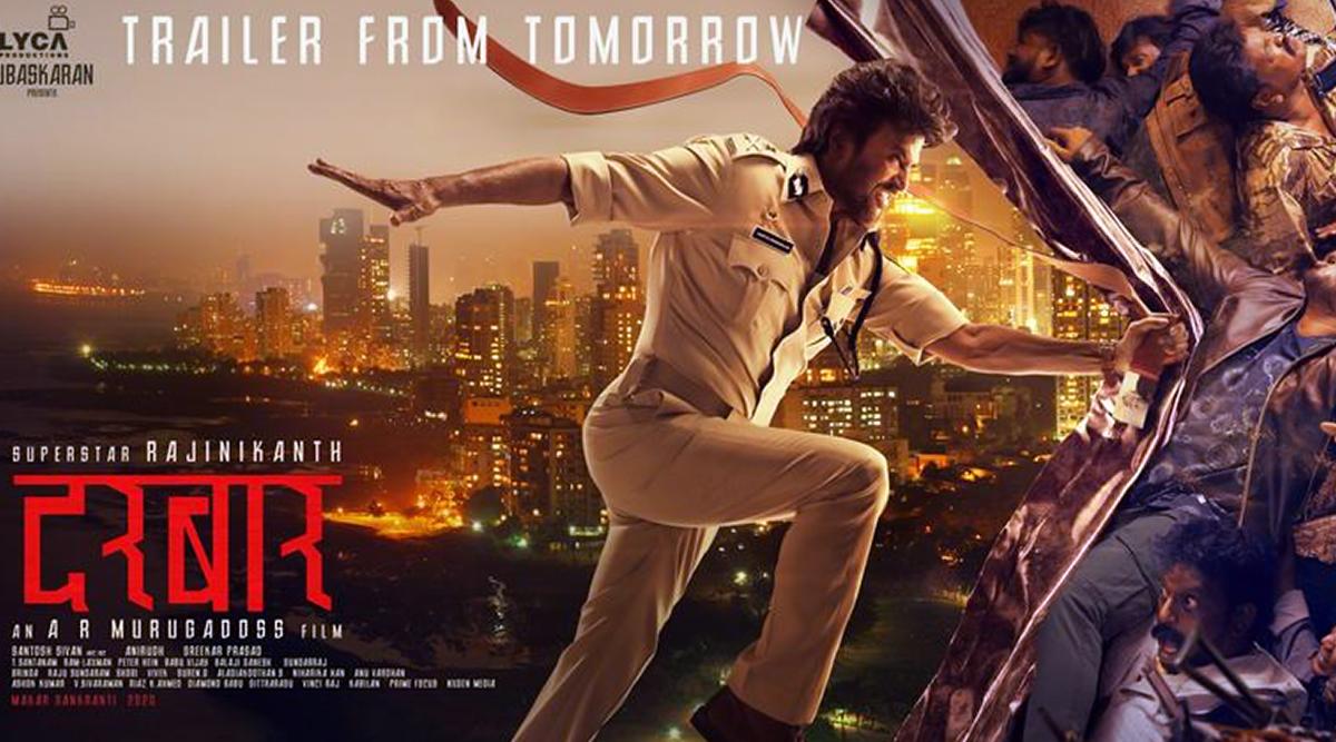 Darbar New Poster: Rajinikanth as a One Man Army Will Make Singham, Simmba and Sooryavanshi Happy