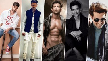 Thirstday Special: Hottest Pictures of Hrithik Roshan Aka Sexiest Asian Male 2019 to Remind You He Is the 'Greek God of Bollywood' for a Reason