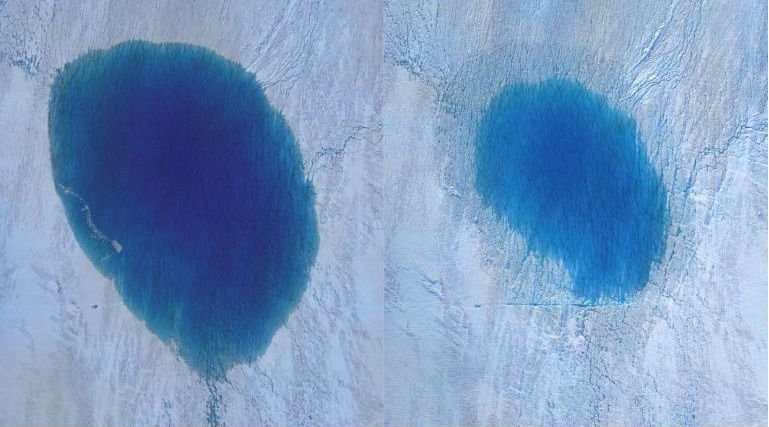 Greenland Ice Sheet Fracturing in Real Time, Drone Footage Captures the Damage