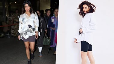 Deepika Padukone Goes Priyanka Chopra Way, opts for Cycling Shorts While Attending U2's Mumbai Concert