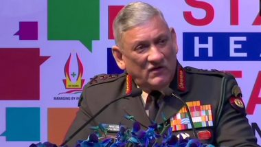 Military Theatre Commands to Be Rolled Out by 2022, May Have Separate Jammu and Kashmir Theatre: CDS General Bipin Rawat