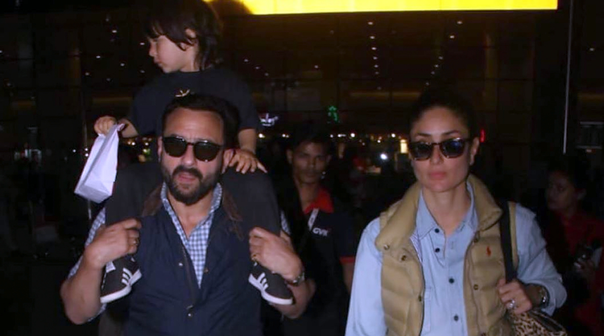 Taimur is Back in Town with Kareena and Saif after Celebrating Granny Sharmila Tagore's Birthday in Ranthambore