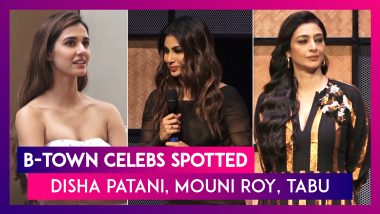 Disha Patani, Mouni Roy, Tabu & Other Bollywood Celebs Spotted