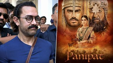 Panipat Team Gets Heartfelt Wishes from Aamir Khan (View Pic)