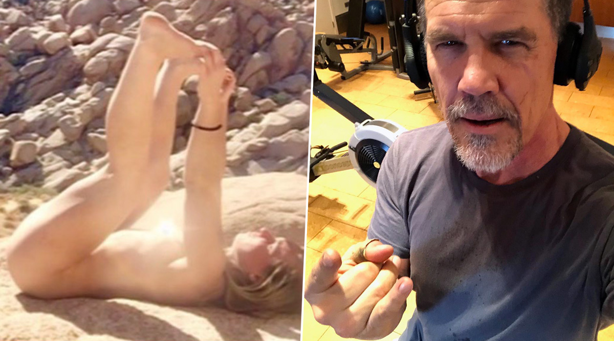 Perineum Sunning: Thanos aka Josh Brolin Tried the Viral NSFW Trend and Calls It 'Stupid Sh*t' After He Burns 'Pucker Hole'