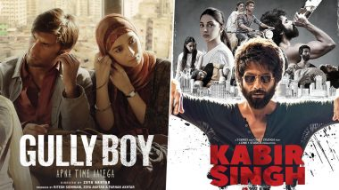 Ranveer Singh's Gully Boy, Shahid Kapoor's Kabir Singh Top the Most Tweeted Hindi Films of 2019 List