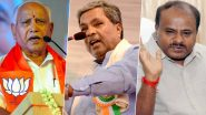 Karnataka Bypoll Results 2019 Live News Updates: BJP Heads For Clean Sweep, Takes Lead in 12 Out of 15 Constituencies