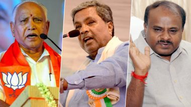 Karnataka Bypoll Results 2019 News Updates: BJP Wins 12 Out of 15 By-Election Seats, Stability of BS Yediyurappa Remains Intact