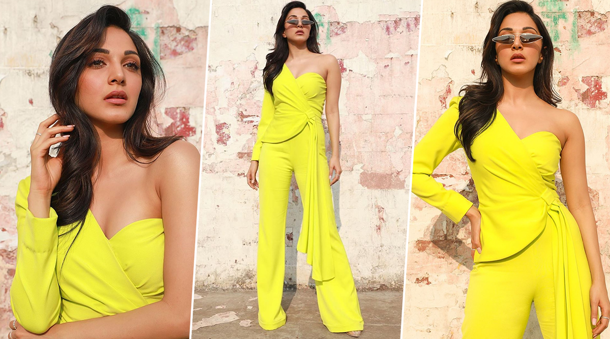 Kiara Advani's Neon Green Jumpsuit is a Good Investment if You Think Rs 25,000 is Pretty Cheap!
