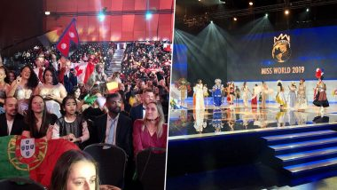 Miss World 2019 Finale Starts in London: Here's the First Glimpse from the 69th Edition of the Beauty Pageant (View Pics)