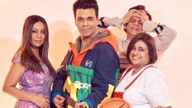 Shah Rukh Khan Photobombs Karan Johar's Kuch Kuch Hota Hai Inspired Photoshoot with Him as 'Rahul' and Gauri Khan as 'Tina'