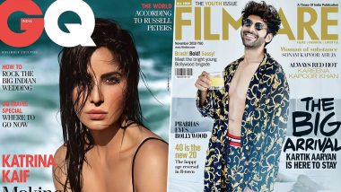 From Katrina Kaif's GQ India to Kartik Aaryan's Filmfare - Let's have a Look at Best and Worst Magazine Covers of November 2019