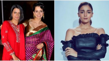 Star Screen Awards 2019: Kangana Ranaut's Sister, Rangoli Chandel Accuses Alia Bhatt of 'Awards Fixing' after the Latter Collects her Trophy Hours in Advance (Watch Video)