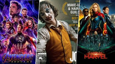 Avengers Endgame, Joker, Captain Marvel Top The Most-Searched Movies in Google Year in Search 2019 Global List