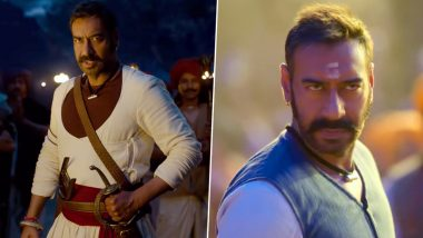 Shankara Re Shankara Teaser: Ajay Devgn Shares Glimpse of the Upcoming Energetic Number from Tanhaji: The Unsung Warrior (Watch Video)