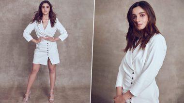 Yo or Hell No? Alia Bhatt's Blazer Dress by Retrofête for 'We The Women' Event